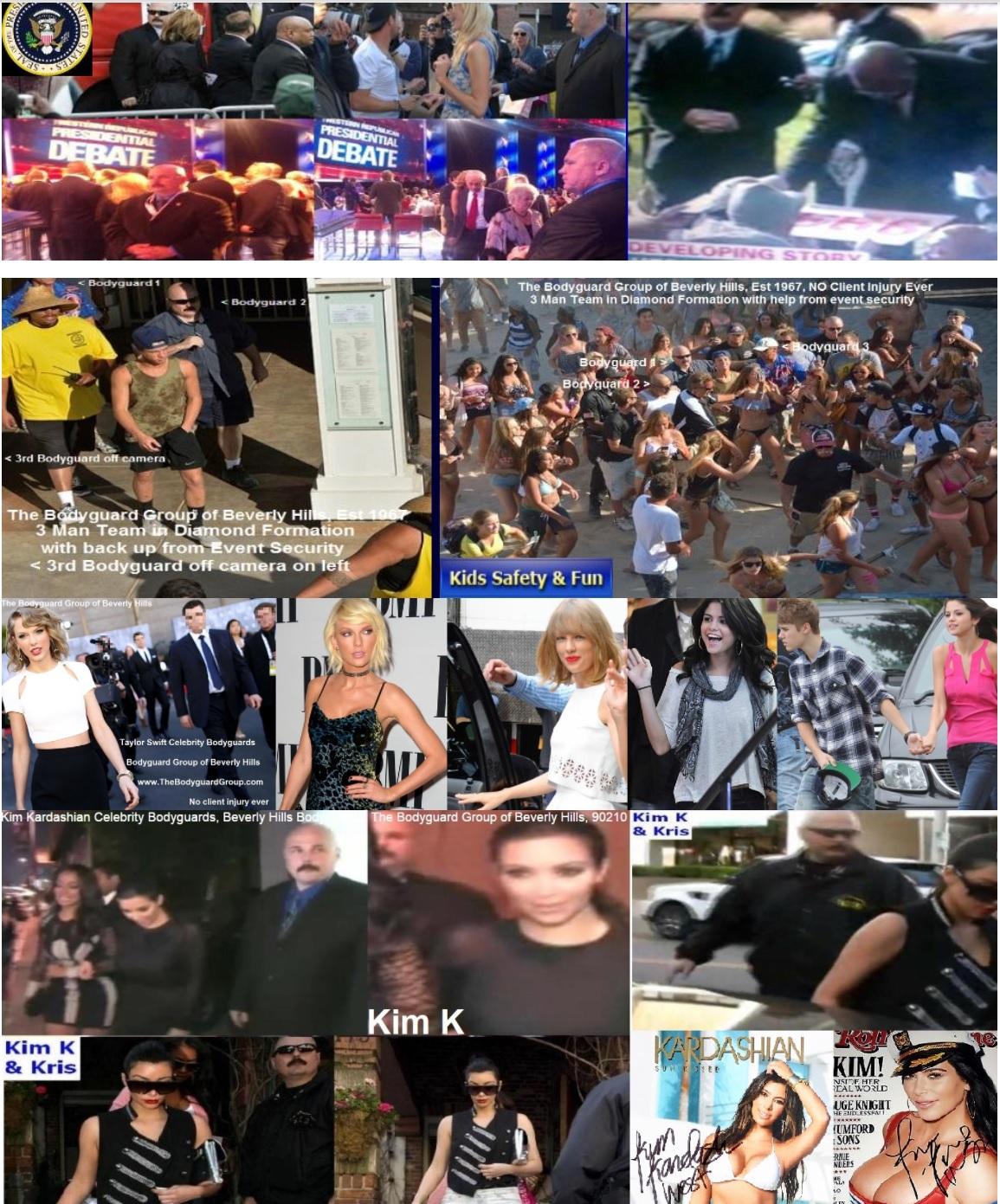 Kris Herzog, famous celebrity bodyguard Kris Herzog taylor swift bodyguards, selena gomez bodyguards kim k bodyguard