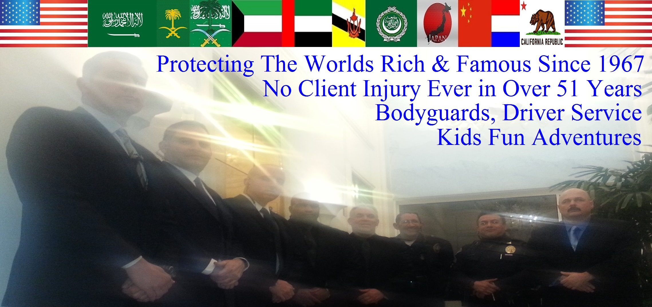 Celebrity Bodyguard Kris Herzog and The Bodyguard Group of Beverly Hills estate security guards 90210, Los Angeles Celebrity Bodyguards for hire