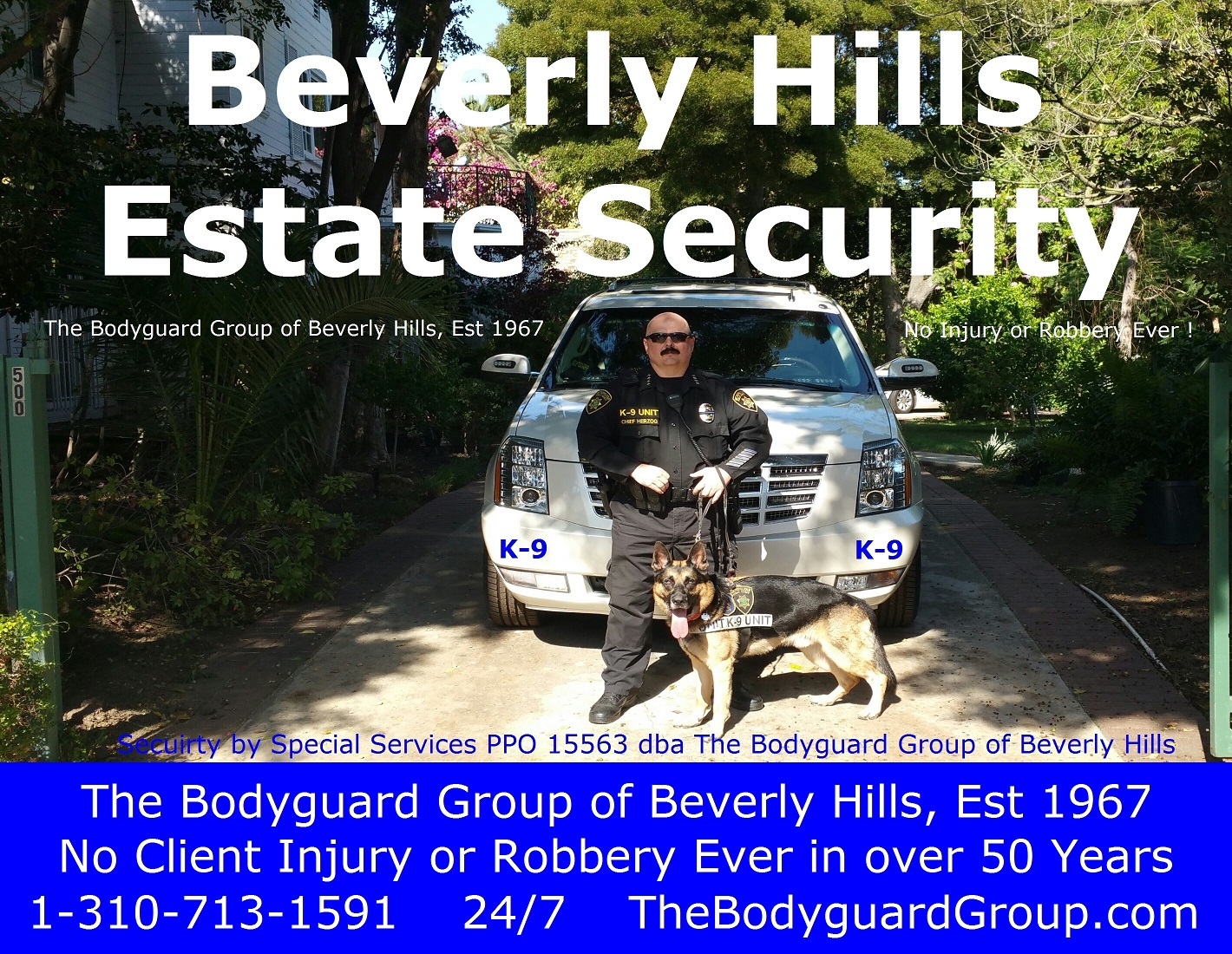 Estate security in Beverly Hills estate security 90210 Beverly Hills estate security famous celebrity bodyguard Kris Herzog Beverly Hills Bodyguards The Bodyguard Group of Beverly Hills
