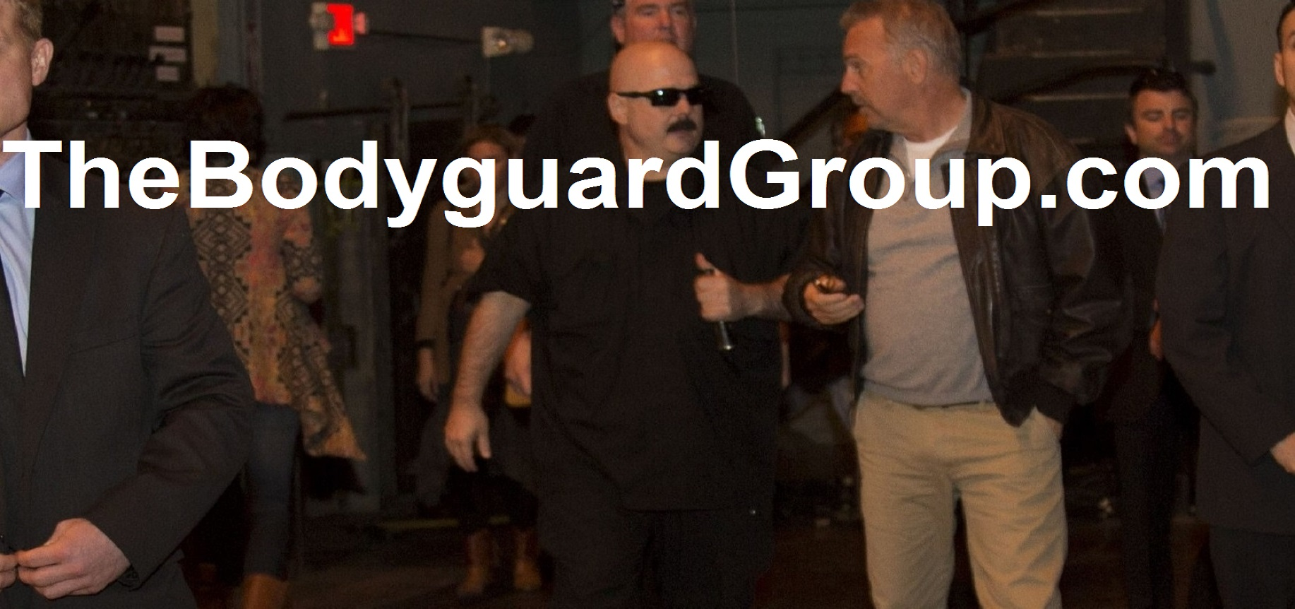 Famous Celebrity Bodyguards Kris Herzog and The Bodyguard Group of Beverly Hills 90210 Protecting Kevin Costner 2017