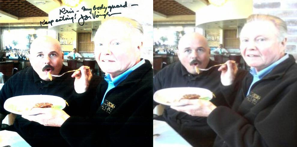 Jon Voight Angelina Jolie dad signed to bodyguards Kris Herzog and The Bodyguard group of beverly hills security 90210