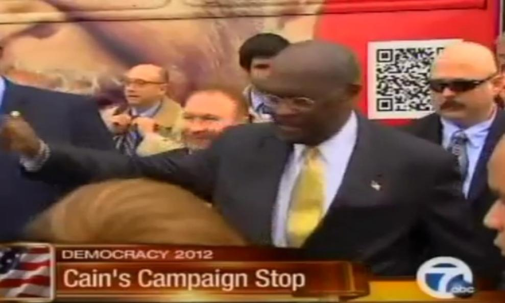 kris_herzog_and_herman_cain_for_president_abc_7_news_interview_in_kris_herzog_book