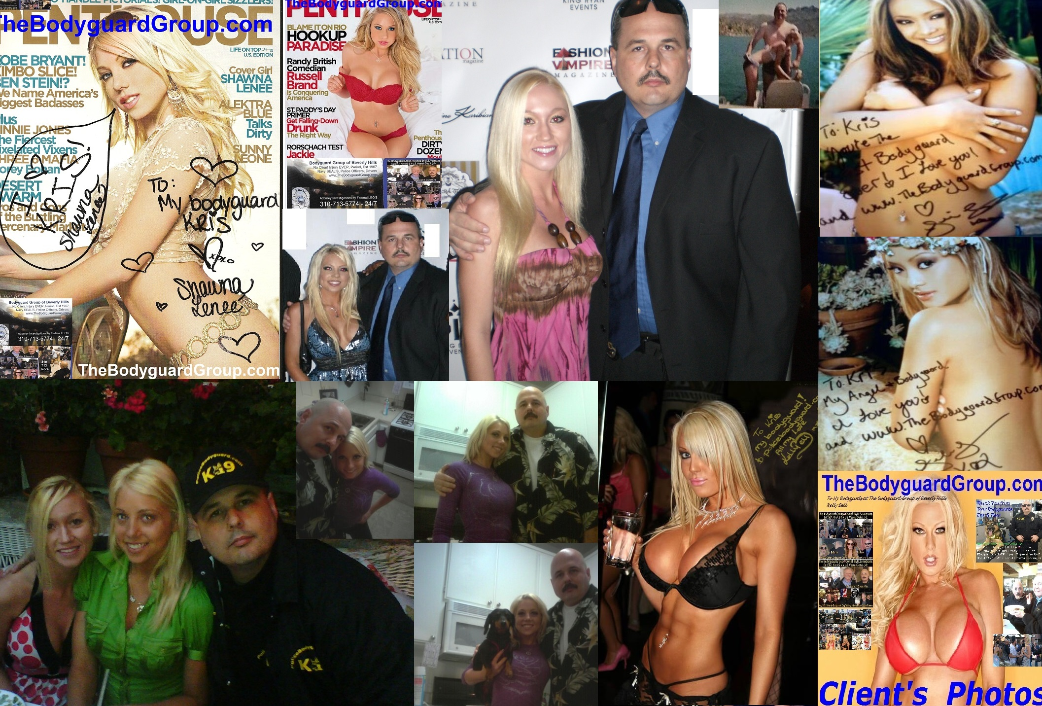 Famous celebrity bodyguard kris herzog girlfriends, The Bodyguard Group of Beverly Hills 90210, Los Angeles, Celebrity Bodyguards for hire for hire