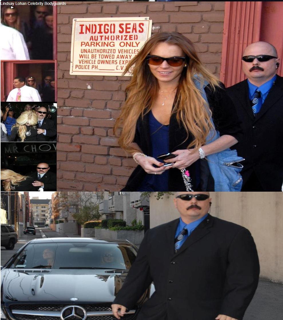 Kris Herzog, famous celebrity bodyguard Kris Herzog lindsay lohan bodyguards jessica alba bodyguards
