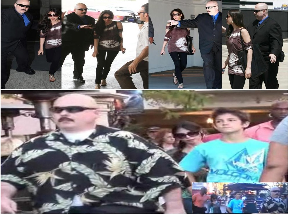 Kris Herzog, famous celebrity bodyguard Kris Herzog Angelina Jolie bodyguards