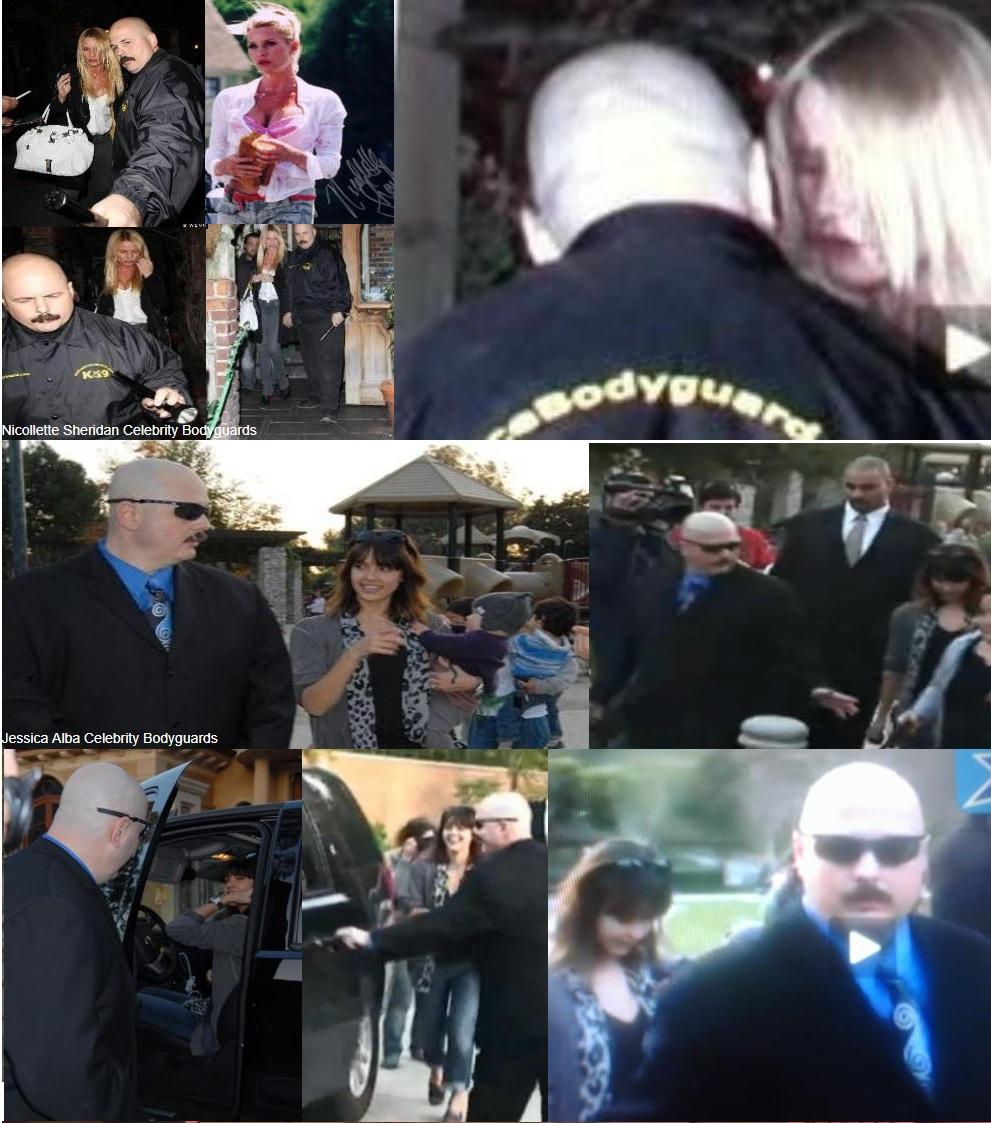 Kris Herzog, famous celebrity bodyguard Kris Herzog jessica alba bodyguard