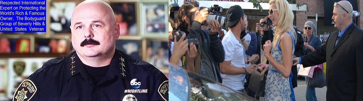 Famous celebrity bodyguard Kris Herzog Bodyguard Group of Beverly Hills security servcies bodyguard for hire los angeles 90210