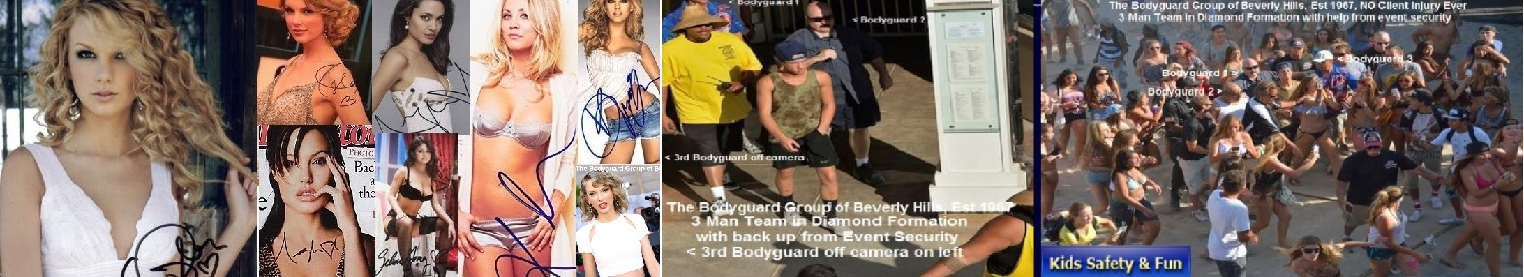 Famous celebrity bodyguard Kris Herzog, The Bodyguard Group of Beverly Hills, 90210, Los Angeles celebrity bodyguards for hire