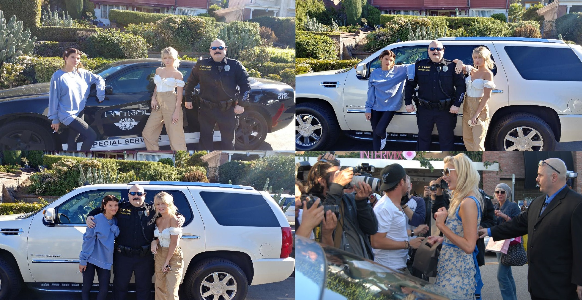 Famous celebrity bodyguard Kris Herzog, The Bodyguard Group of Beverly Hills, 90210, Los Angeles celebrity bodyguards for hire for Supermodel clients