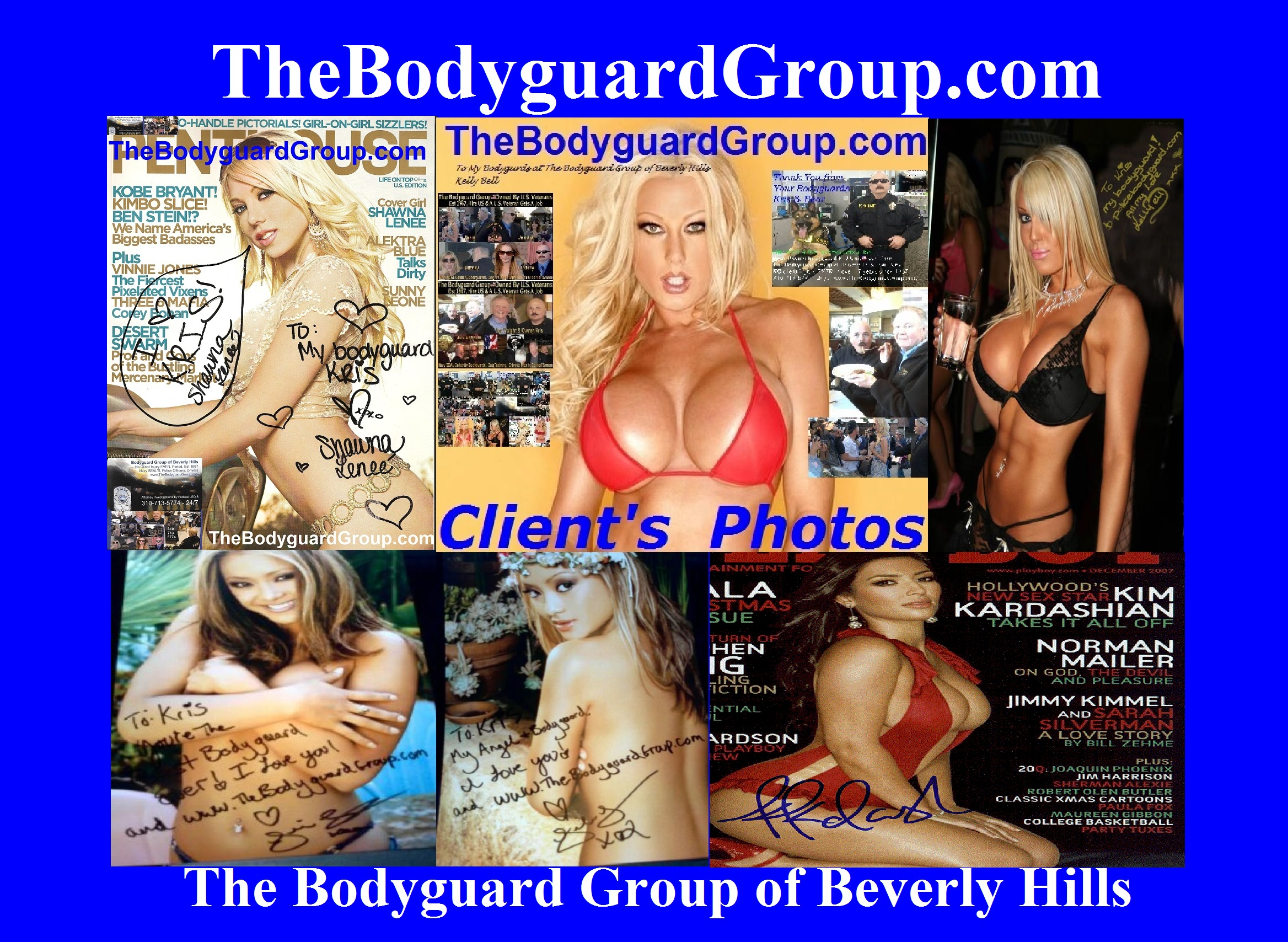 The Bodyguard Group of Beverly Hills security Billionaire Bodyguards 90210, Los Angeles, Celebrity Bodyguards for hire for hire