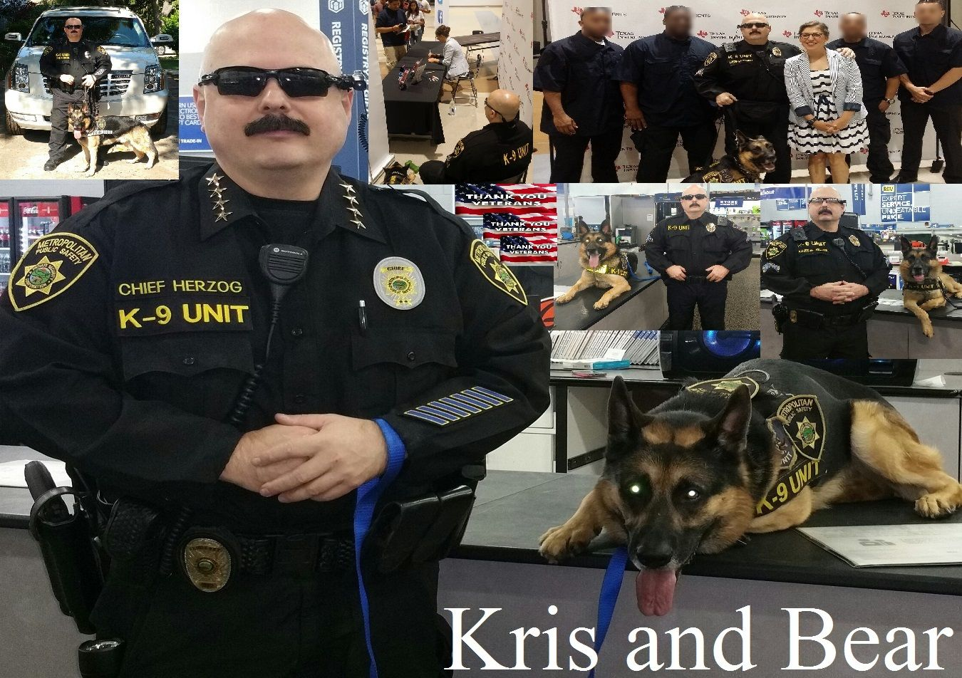 Famous celebrity bodyguard Kris Herzog k-9 BEAR and The Bodyguard Group of Beverly Hills security 90210