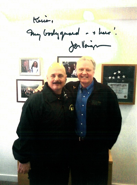 Jon Voight and Kris Herzog The Bodyguard Group of Beverly Hills security 90210 bodyguards for hire