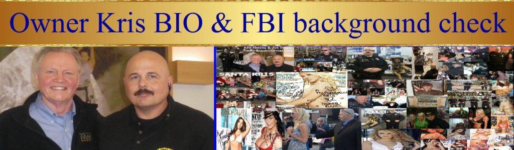 Kris Herzog world famous celebrity bodyguard kris herzog of the bodyguard group of beverly hills california 90210)