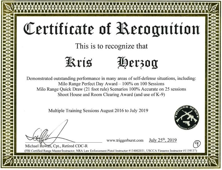 Celebrity Bodyguard Kris Herzog MILO RANGE training The Bodyguard Group of Beverly Hills 90210 security - Copy