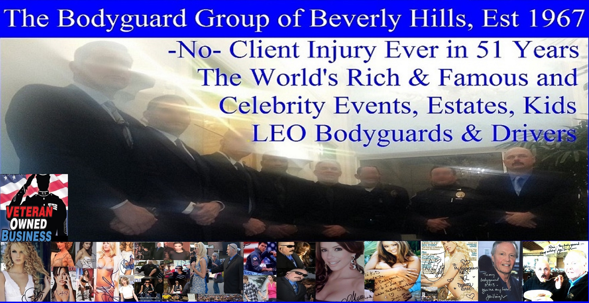 Kris Herzog Owner of The Bodyguard Group of Beverly Hills, CA, 90210, Beverly Hills security guards, Beverly Hills security patrol 90210