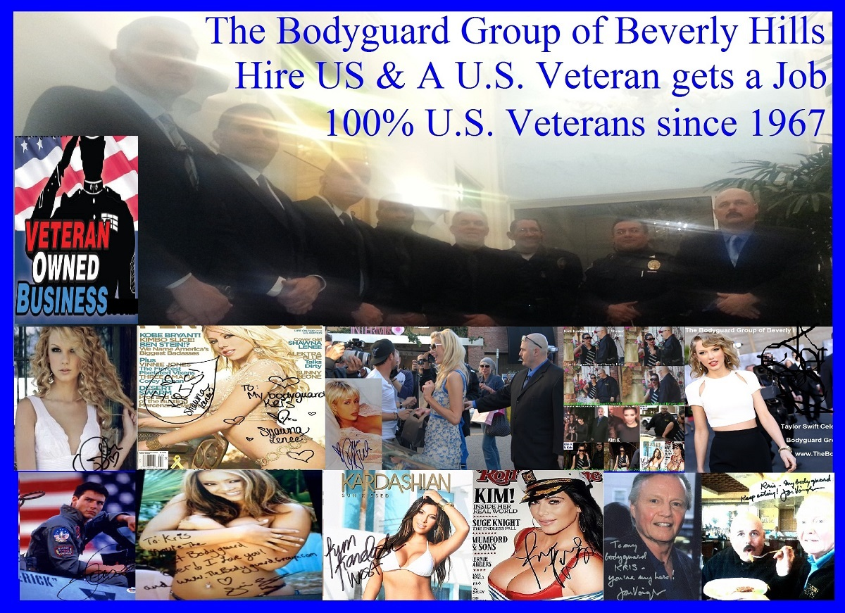 Kris Herzog The Bodyguard Group of Beverly Hills security 90210, Los Angeles Celebrity Bodyguards for hire 2020