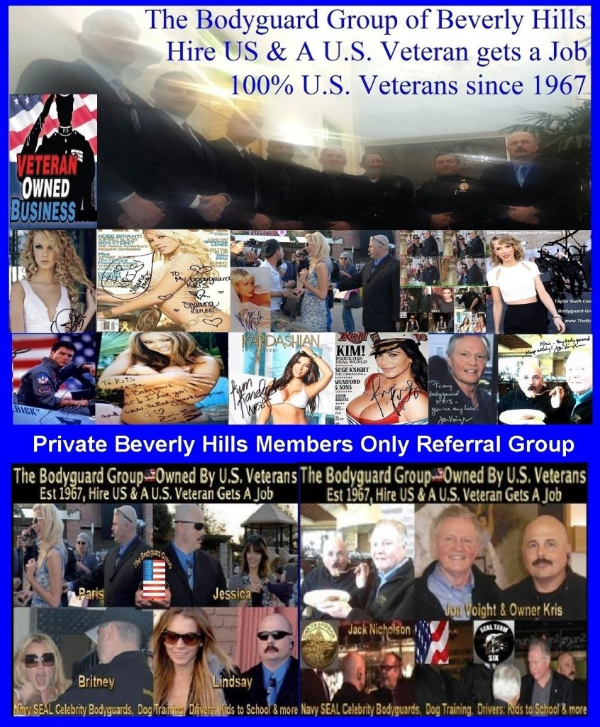 Kris Herzog The Bodyguard Group of Beverly Hills security 90210 Los Angeles Celebrity Bodyguards security for hire 2021